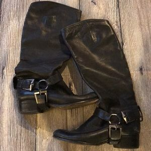 Seven for All Mankind leather riding boots Sz 8